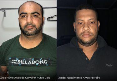 Dois líderes da quadrilha que atacou bancos e joalheria em Ipameri são presos