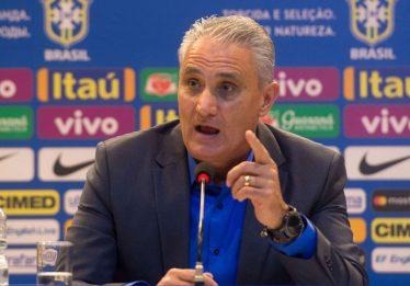 Tite veta Fernandinho e afirma que Allan será titular do Brasil contra o Paraguai