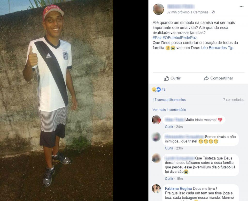 Homem é baleado e morre durante briga entre torcedores de Ponte e Guarani
