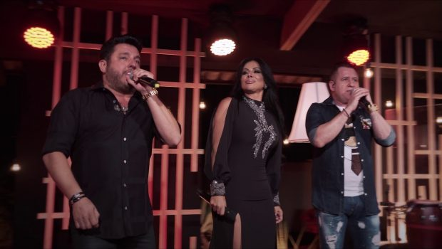 Valéria Barros lança 'Alcoolizando Sentimento' com Bruno e Marrone
