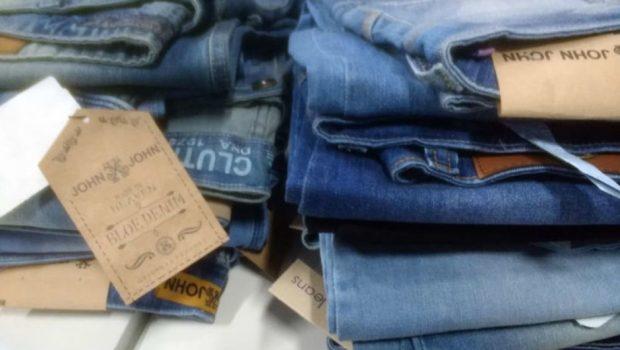 Mais de 3 mil falsificações são apreendidas na região da Rua 44