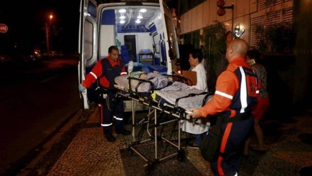 Bebê é atingido por bala perdida dentro de colégio no Rio de Janeiro