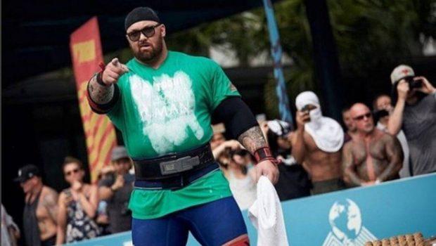 Ator de 'Game of thrones' ganha título de homem mais forte do mundo