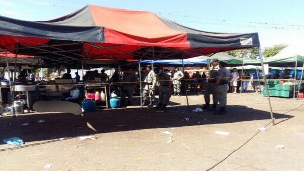 Feirante é morto a tiros em feira livre no Vera Cruz 2, em Goiânia