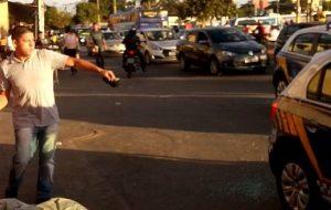 Confusão e quebradeira na Região da 44, em Goiânia