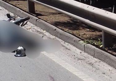 Ciclista morre em colisão com caminhão, na BR-153, em Goiânia