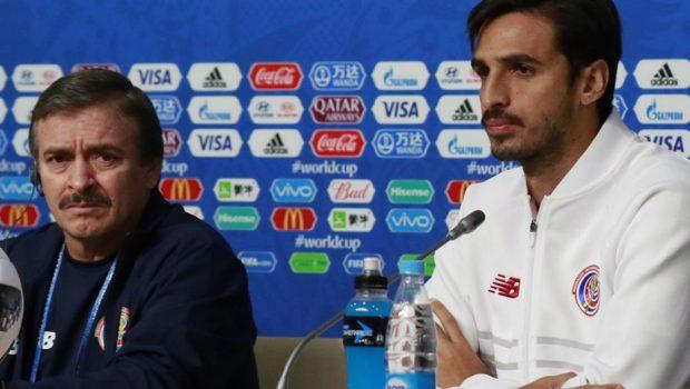 Capitão da Costa Rica afirma que seu time jogará para vencer o Brasil