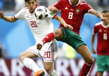 Irã consegue gol nos acréscimos e vence Marrocos