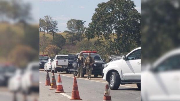 Quadrilha foi presa ao se aproveitar de hora do jogo para transporte de cocaína de MS a Goiás
