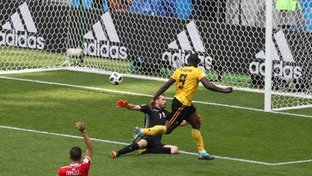 Lukaku marca dois, Bélgica goleia a Tunísia e garante vaga nas oitavas da Copa