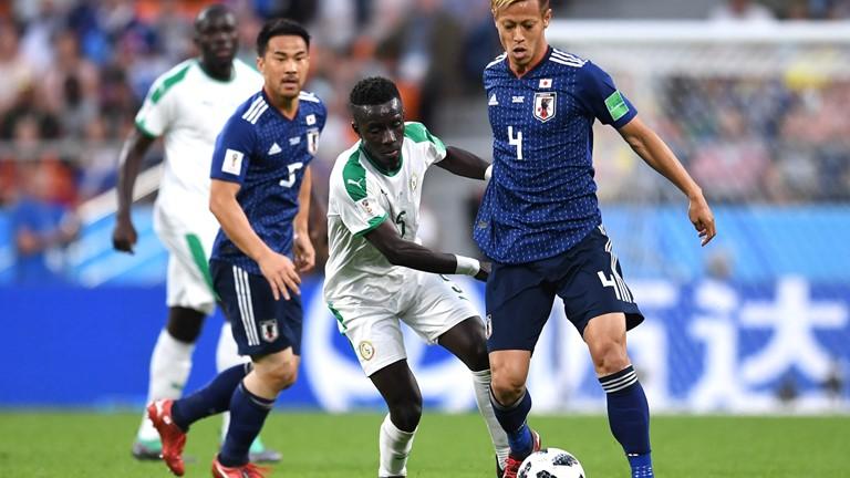 Japão e Senegal empatam por 2 a 2 em jogo equilibrado