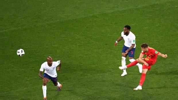 Com a melhor campanha da primeira fase, Bélgica vence Inglaterra
