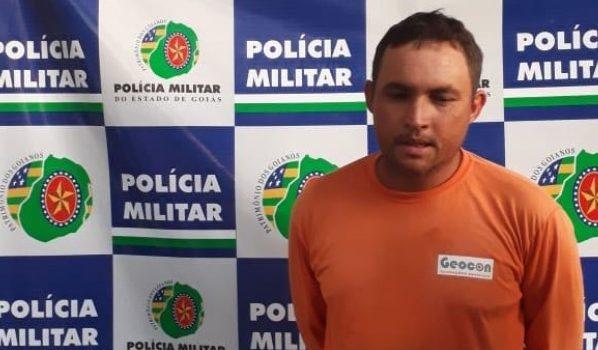 Preso em Porangatu autor de áudio com ameaças contra policiais