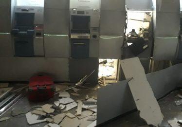Tentativa de assalto a banco termina com explosão e roubo frustrado em Caldas Novas