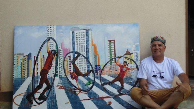 Exposição inspirada em artistas de rua de Goiânia começa nesta terça-feira (5)
