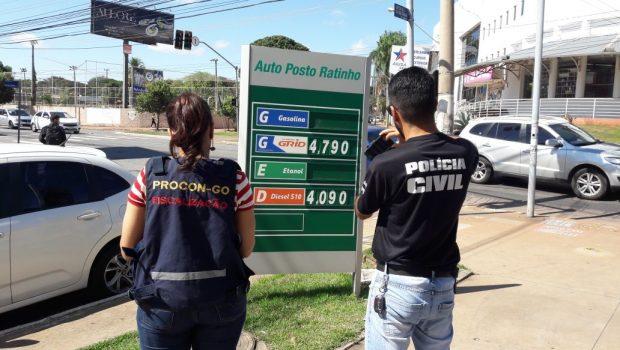 Quatro postos de combustíveis são autuados em Goiânia por não repassarem desconto do diesel