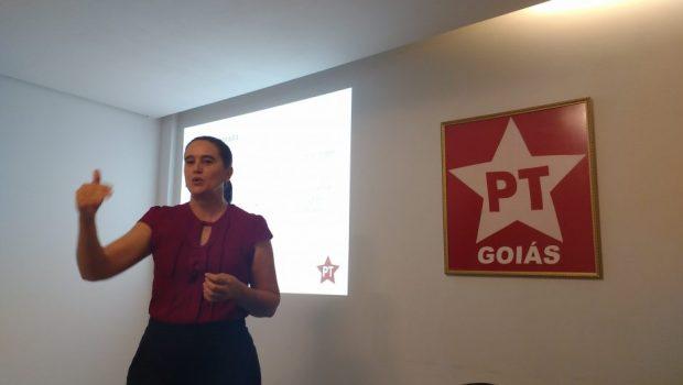 Kátia Maria critica concentração de renda e defende novo modelo de gestão em Goiás