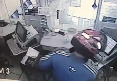 Polícia busca bandidos que roubaram casa lotérica, em Mara Rosa