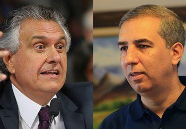 Zé Eliton e Ronaldo Caiado declaram juntos mais de R$ 8 mi à Justiça Eleitoral