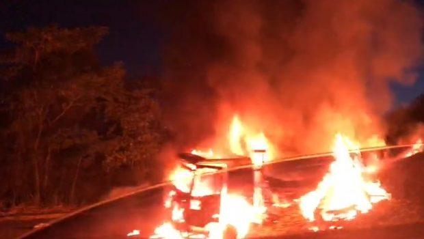 Uma pessoa morreu e outras quatro ficaram feridas em acidente na BR-060, em Alexânia