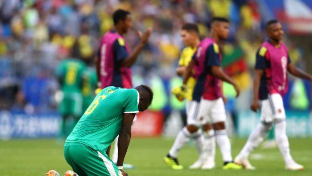 Com gol de Mina, Colômbia vence Senegal e garante vaga nas oitavas de final