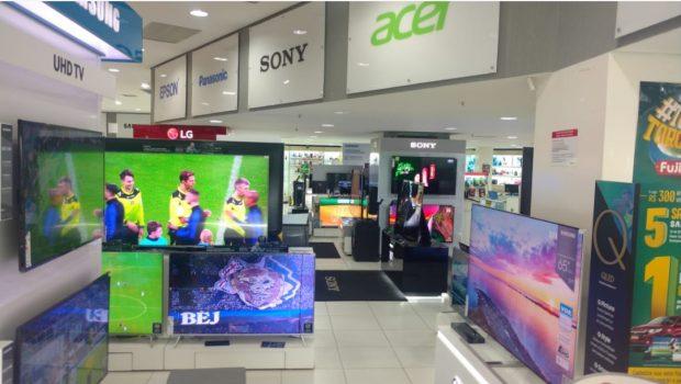 Copa do Mundo impulsiona venda de TVs em Goiás