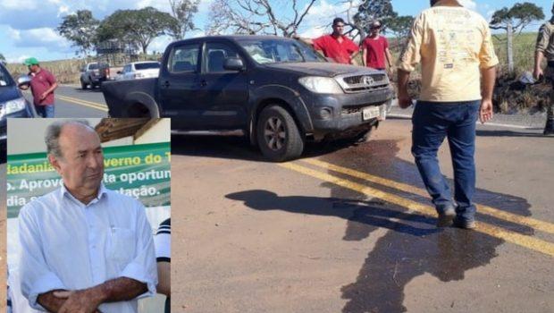 Sebatistião Tatico, ex-prefeito de Aragominas, morre em acidente na TO-222