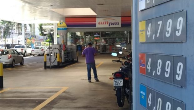 Governo promete multa de R$ 9 mi a posto que não baixar preço do diesel