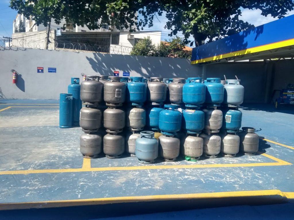 Petrobras anuncia reajuste de 1% no valor do gás de cozinha
