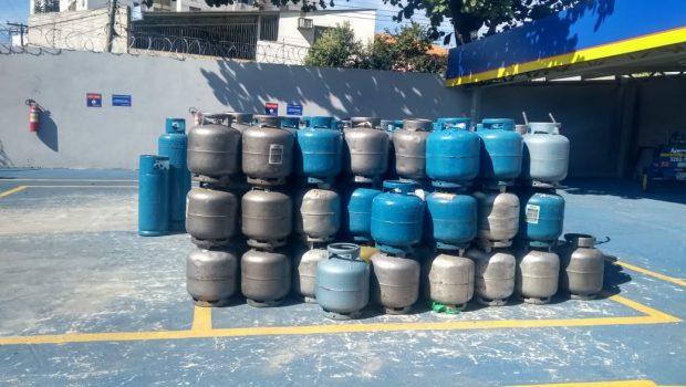 Goianienses ainda têm dificuldades para encontrar gás de cozinha