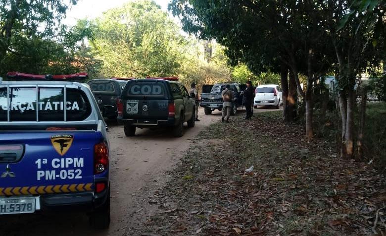 Integrantes de quadrilha de roubo a banco são mortos em confronto com a polícia em Campos Belos de Goiás