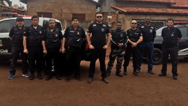 Operação Echelon prende casal suspeito de envolvimento com o PCC em Goiás