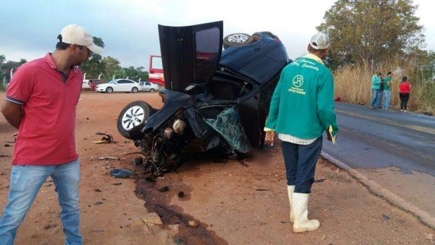 Acidente deixa duas pessoas mortas na GO-164, em São Luís de Montes Belos