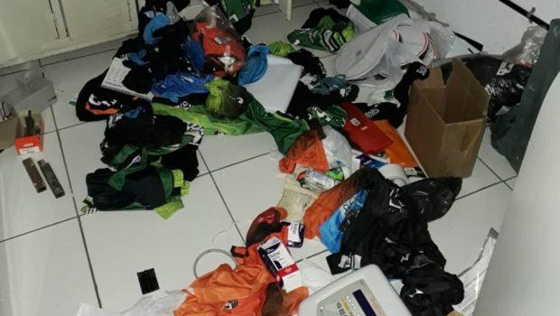 Bandidos invadem ginásio do Monte Cristo e levam materiais dos atletas em Goiânia