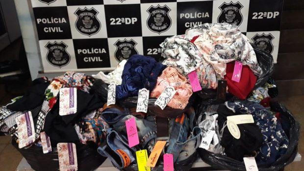 Homem é preso com 150 peças de roupas furtadas na região da 44, em Goiânia