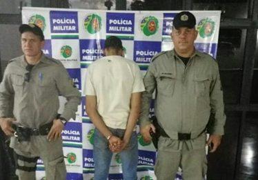 Homem é preso suspeito de furtar e roubar televisores, em Terezópolis de Goiás