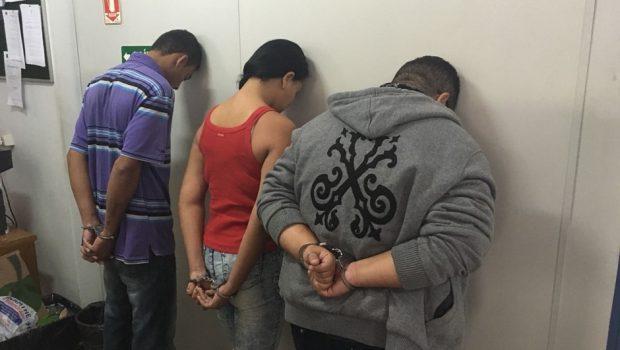 Trio preso com drogas é suspeito de 12 assassinatos em Goiânia