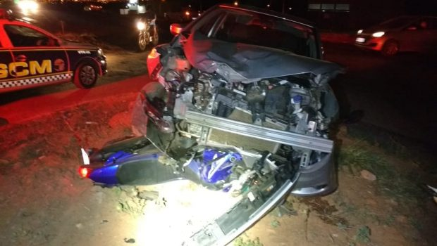 PM continua em estado grave após acidente em Senador Canedo