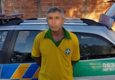 Preso homem flagrado abusando de menina durante o jogo do Brasil no Jardim Novo Mundo