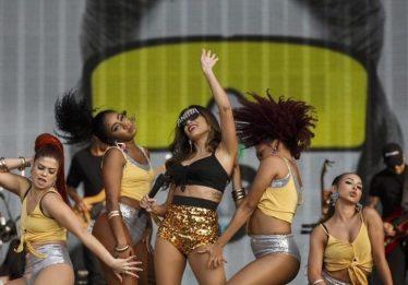 Anitta exalta o funk em show com ares de superprodução no Rock in Rio Lisboa