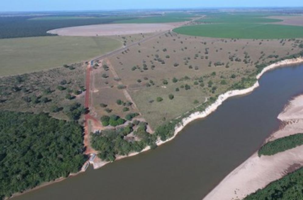 Fazendeiro pode ter que pagar multa de R$ 215 mi por captação irregular de água do Rio Araguaia