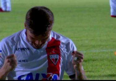 Atlético arranca vitória do Sampaio Corrêa