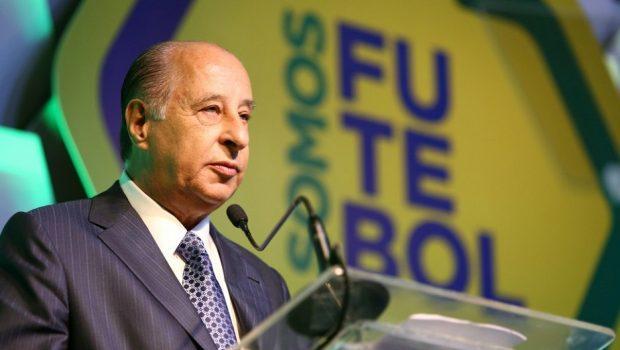 Sem Del Nero, CBF quer US$ 100 milhões da Fifa por Copa de 2014