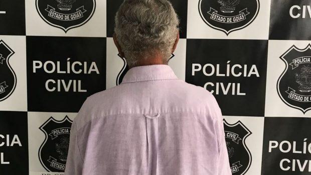 Idoso é preso suspeito de abusar sexualmente de três menores em Goiatuba