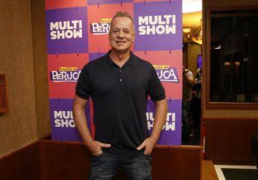 Luiz Fernando Guimarães grava episódios de nova série de humor da Globo