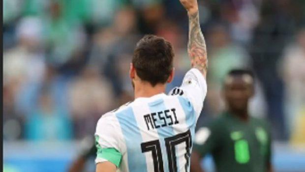 Argentina vive tensão até os 40 minutos, mas se classifica