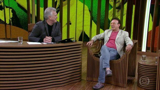 'Foi maravilhoso para mim', diz Moacyr Franco ao comentar AVC que sofreu