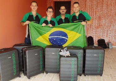 Brasileiros ganham R$ 400 mil em luta de robôs na China
