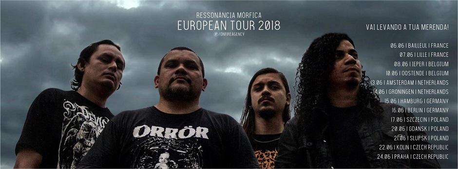 Ressonância Mórfica se prepara para sua primeira turnê europeia