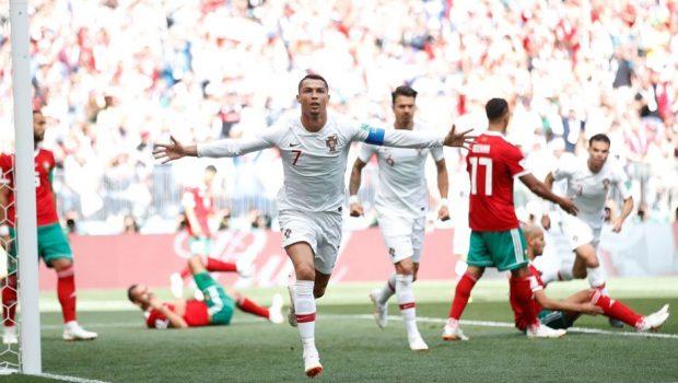 Cristiano Ronaldo marca de novo, Portugal bate Marrocos e encaminha classificação